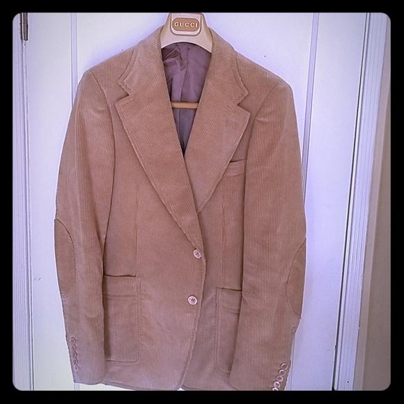 a4c9e005d Gucci Suits & Blazers | Mens Corduroy Sports Jacket | Poshmark